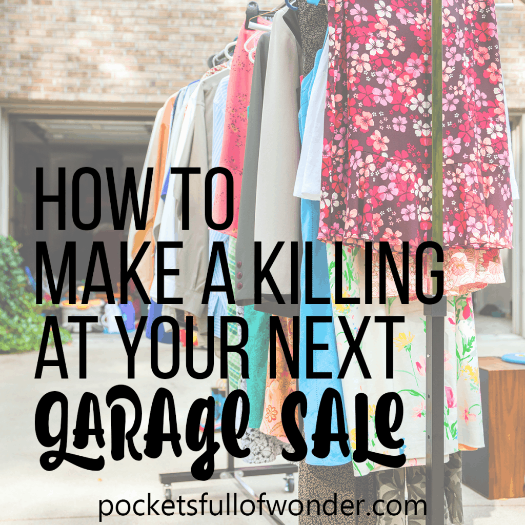 If you're having a yard sale, check this out! These are the BEST tips for making money at your next garage sale!