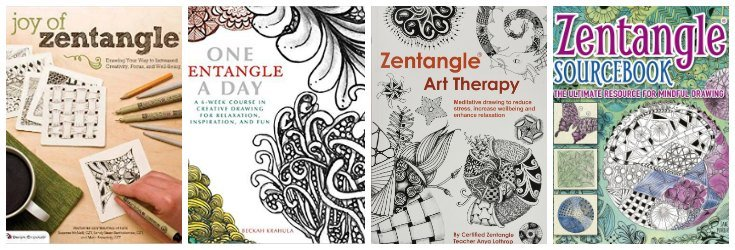 Resources for learning how to zentangle for beginners