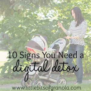 10 Signs You Need a Digital Detox