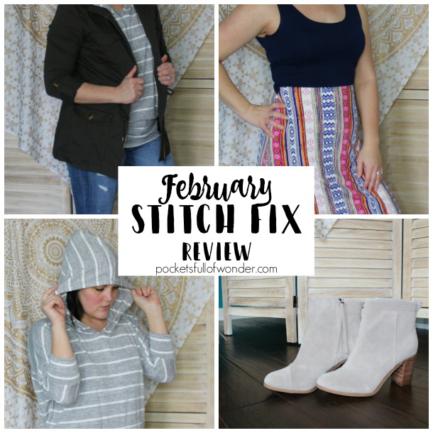 This is a review of my February Stitch Fix box!