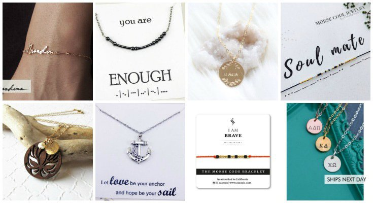 Jewelry with personal meaning
