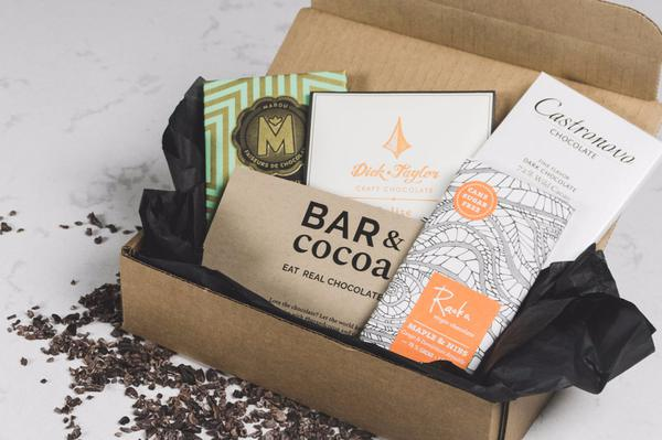 Bar & Cocoa Chocolate Lover's Monthly Subscription Box