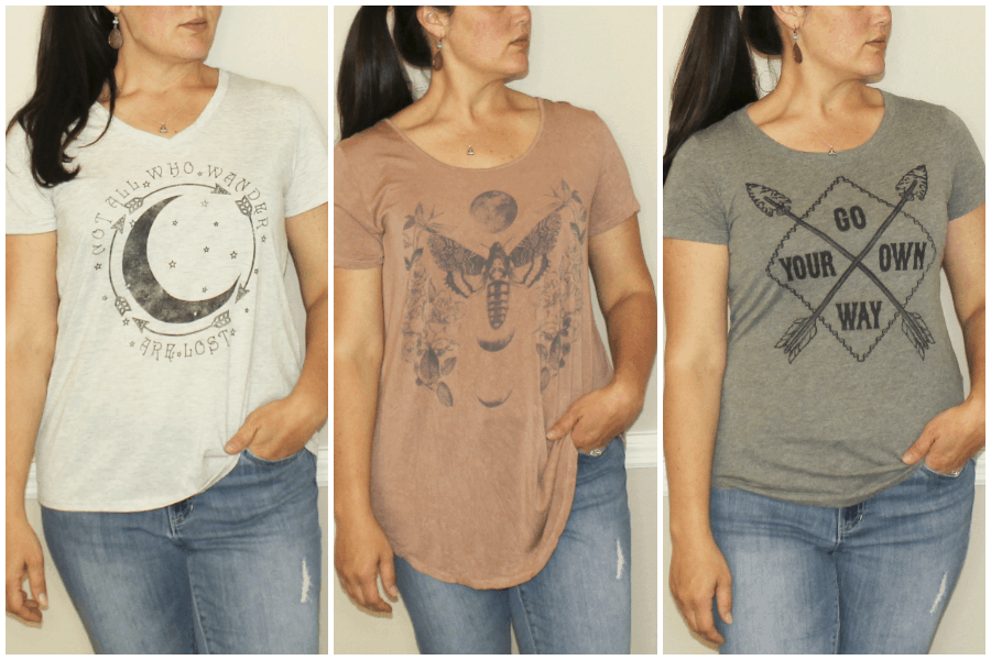 Graphic Tees for Capsule Wardrobe
