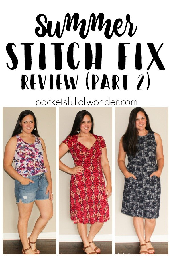 Summer Stitch Fix Review