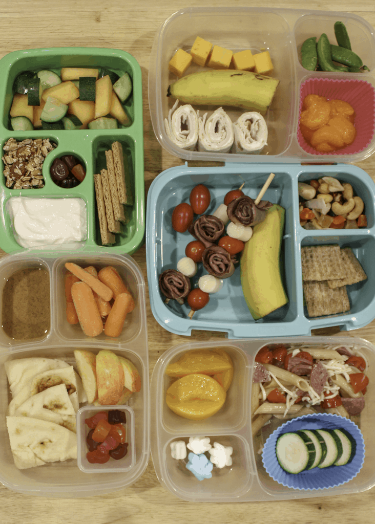 Simple Packed Lunches for Kids