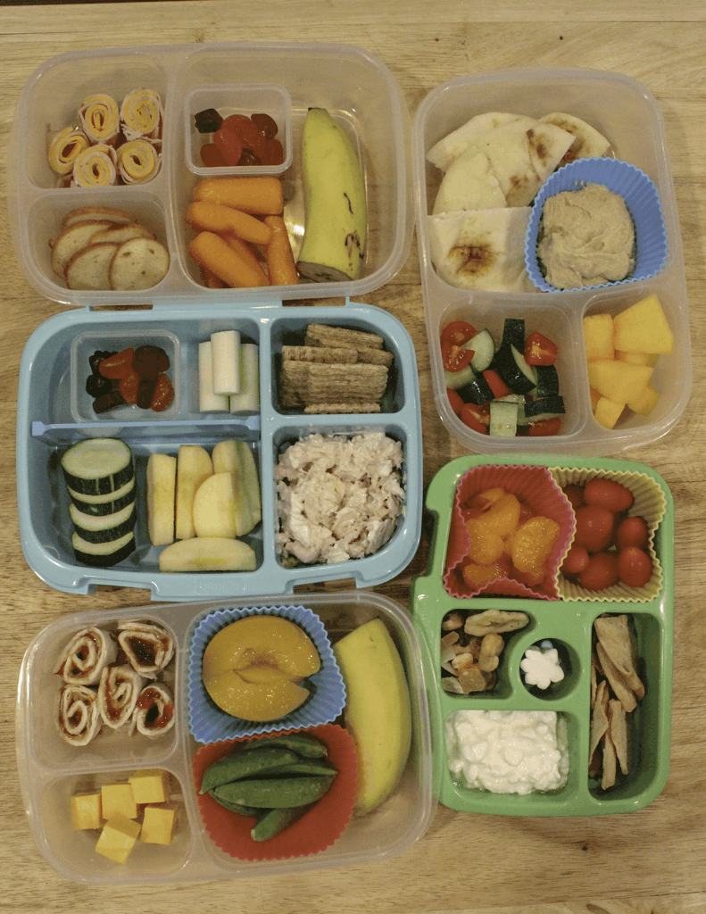 Simple and healthy school lunches for children