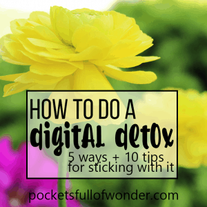How to Do a Digital Detox (five ways plus tips for sticking to it)