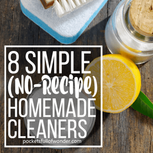 Eight No-Recipe DIY Cleaners