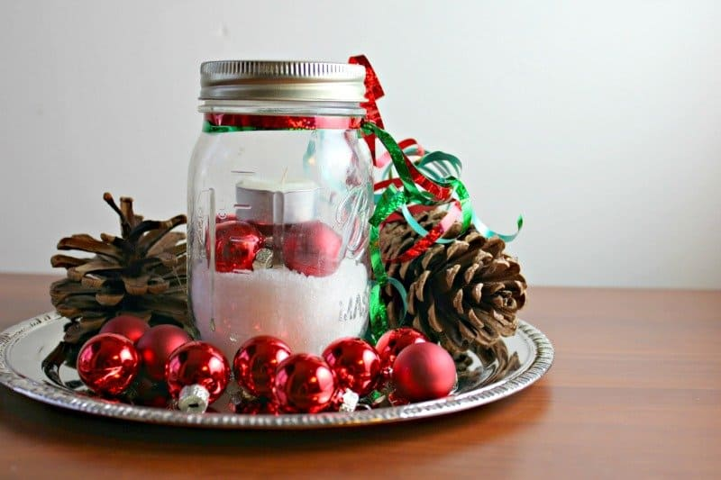 Easy and Affordable Last Minute Christmas Decor: Votive Holder