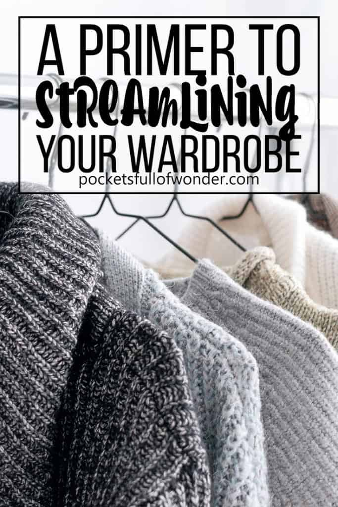 This is a great motivator for getting started with simplifying your wardrobe! #tidyup #streamlinedwardrobe #minimalistwardrobe #simplewardrobe #