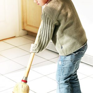 Chores for a Three-Year-Old
