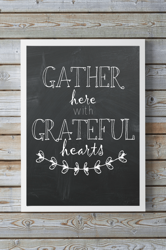 Free Thanksgiving Quote Printable