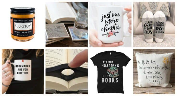 Simple meaningful gifts for book lovers