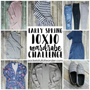 Early Spring 10×10 Wardrobe Challenge
