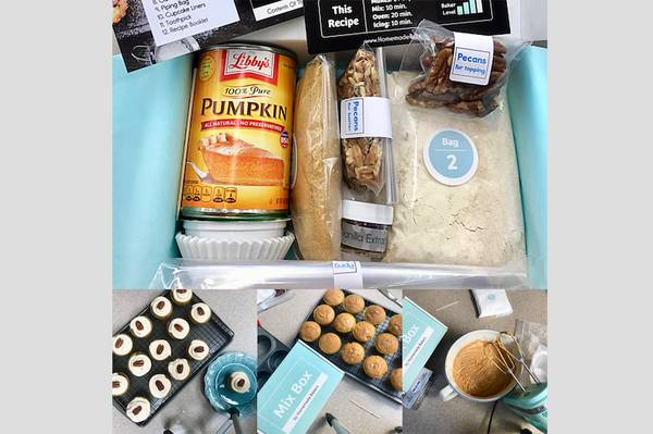 Homemade Bakers Dessert Subscription Box