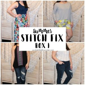Summer Stitch Fix Review: Box 1