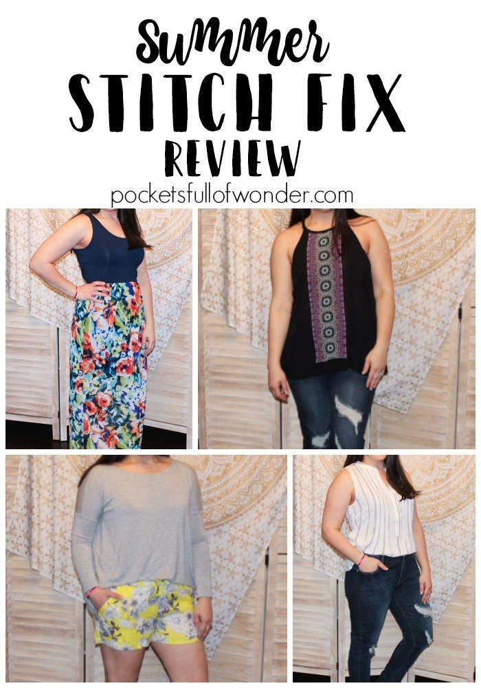 I used Stitch Fix to freshen up my summer wardrobe. In this Stitch Fix Review, I show the five items my personal stylist sent me and why I DIDN'T keep them.