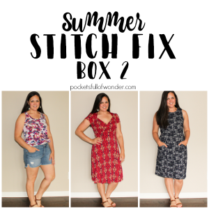 Summer Stitch Fix Review: Box 2