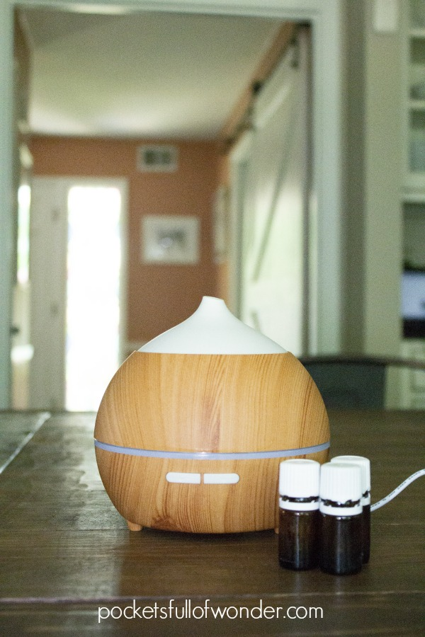 How to start diffusing essential oils with an Essential Oil Diffuser