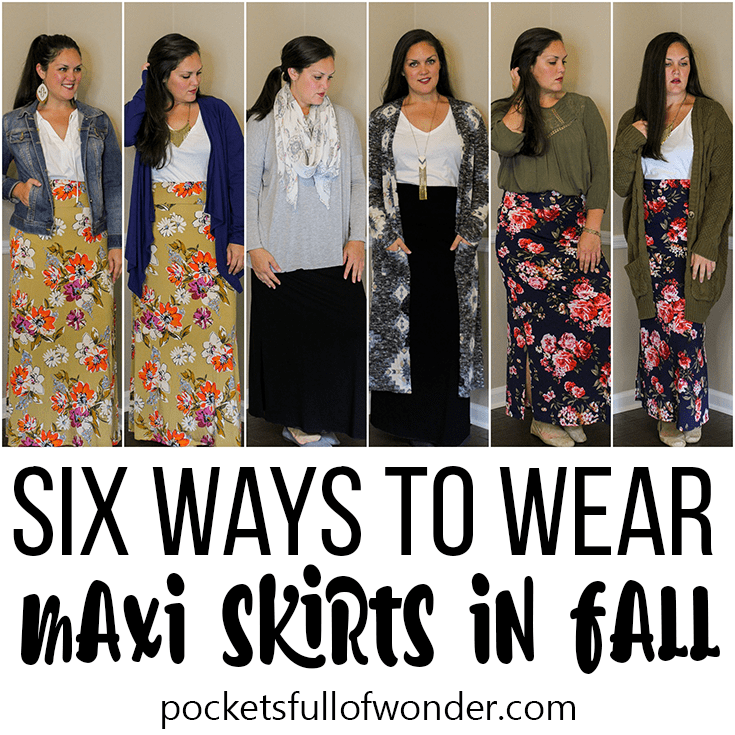 6 Ways to Wear Maxi Skirts in Fall
