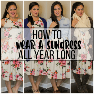 How to Wear a Floral Sundress All Year