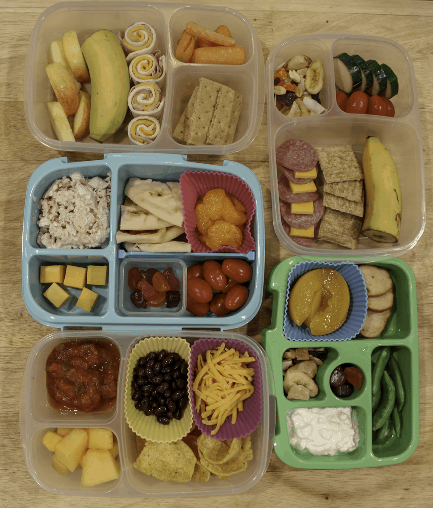 Easy School Lunches for a Kindergartner