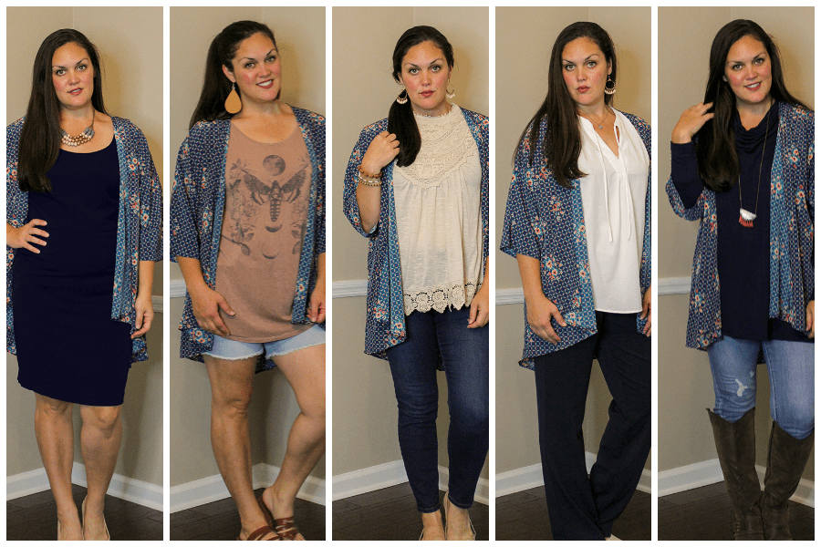 How to Style a Kimono Five Ways