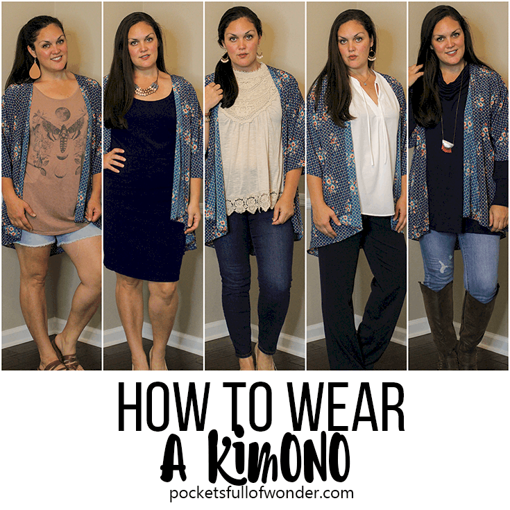 Five Ways to Wear a Kimono