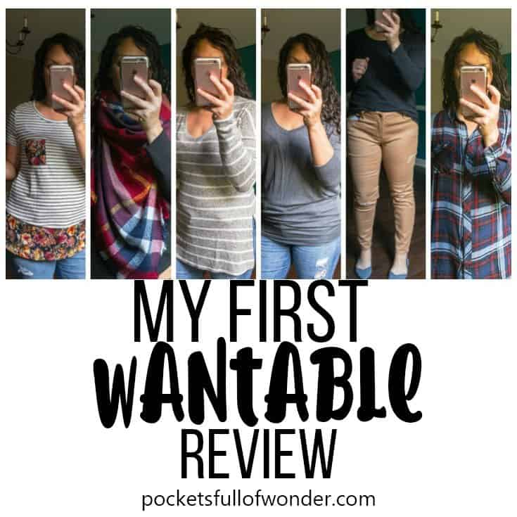 My First Wantable Review - Collage of 6 clothings items