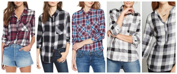 Plaid Shirt Options