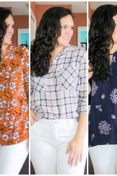 Stitch Fix Spring Picks (cute patterned tops)