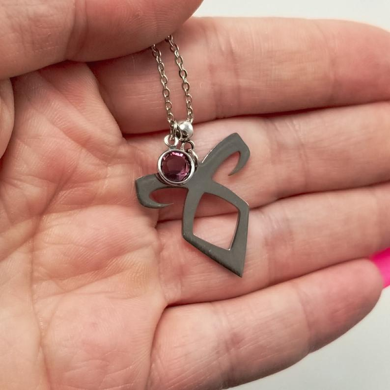 Shadowhunter Angel Rune Necklace